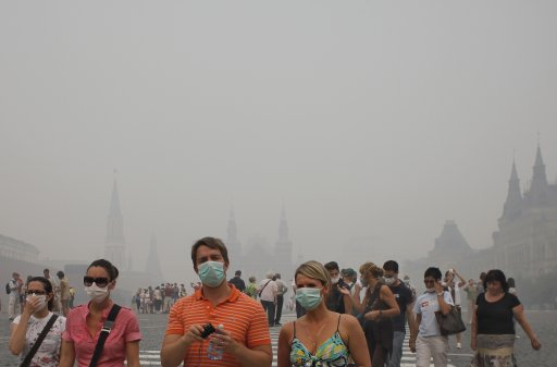 Russia Smog