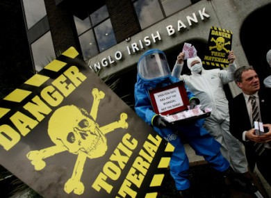Anglo's Irish operations have long been described as 'toxic' - now some of the cash in its Austrian subsidiaries might not be too legitimate either.