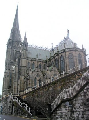 St Colman's Cathedral, Cobh, where John Butler's funeral will take place tomorrow morning