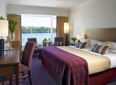 A room in the Trident Hotel, Kinsale, similar to that in which Miriam Reidy was found dead.