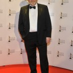Brendan Gleeson, nominated for an award, arriving for the 8th Irish Film and Television Awards. Photo by KOBPIX.