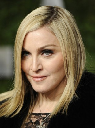 Madonna arrives at the Vanity Fair Oscar Party 2011, February 27, 2011.