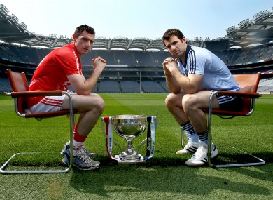 Specialist subject: Cork's Donncha O'Connor and Dublin's Bryan Cullen will meet again on Sunday.