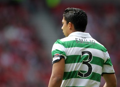 Emilio Izaguirre is reportedly a Man United target.