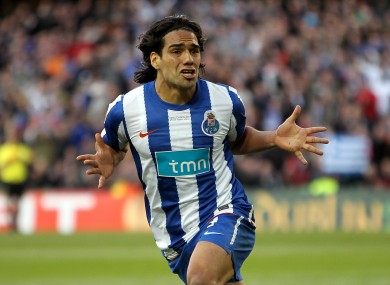 Falcao is a Chelsea target reportedly.