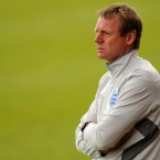 Stuart Pearce watches his England side falter in the U21 European Championships.