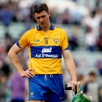 Fergal Lynch looks dejected after his side's loss in the Munster GAA Hurling Senior Championship.