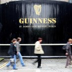 Though it's traded on the London and New York exchanges too, Diageo's historical links to Dublin mean it is also traded here. That status, with shares at €14.42 this afternoon, valued the company at a whopping €36.1 billion. (Julien Behal/PA Wire)