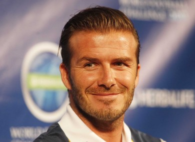 David Beckham has said Sneijder would be a valuable addition to United's squad.