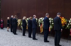 Germany marks construction of the Berlin Wall by remembering victims