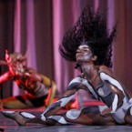 Dancers of the Rosario Cardenas company perform during the celebration of the 50th anniversary of the Union of Writers and Artists of Cuba at the Great Theater in Havana, Cuba, Saturday, Aug. 20, 2011.