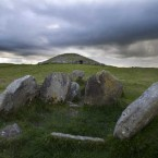 Loughcrew Megalithic Cairns on Carnbane East in County Meath.