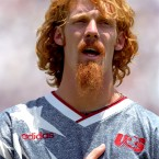 With all the stars and facial hair, he could be Whitlock's marginally cooler, more ginger brother. The current president of the New York Red Bulls, Lalas was the most recognisable member of the USA's 1994 World Cup team.