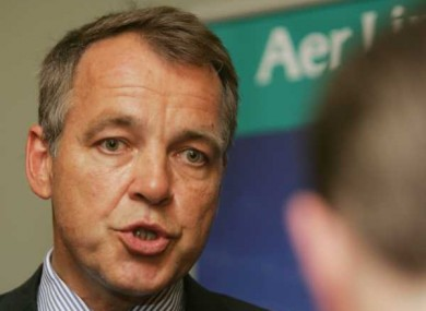Aer Lingus chief executive Christoph Mueller remains upbeat about the airline's prospects for 2011.