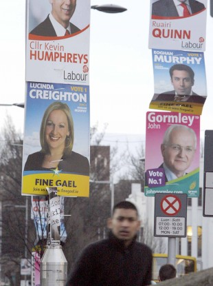 Ireland has already seen millions of election posters being erected this year - but candidates in the presidential election may agree to shirk posters for October's ballot.