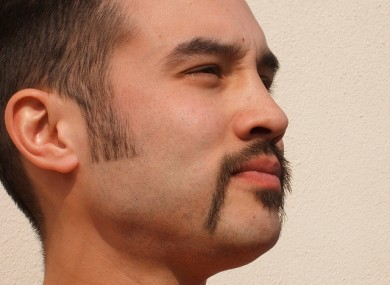 What Yamanaka's finished moustache might have looked like.