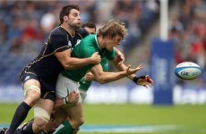 Ansbro try settles tight encounter between Scotland and Ireland at Murrayfield