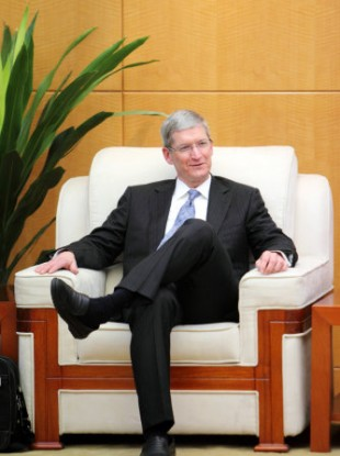 Tim Cook, new CEO of Apple
