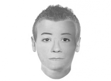 Police have issued this photofit illustrating the man who was reportedly sighted carrying a gun on the Virginia Tech campus.