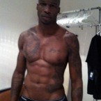 Chad Ochocinco has some serious abs.