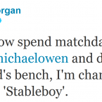 Another day, another Piers Morgan tweet slagging off Michael Owen.