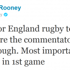 Wayne Rooney takes issue with some of those who criticised England's performance.