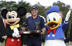 Luke Donald delivers on Disney promise