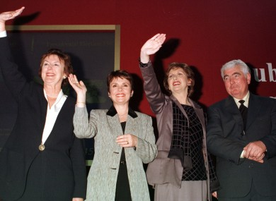 Mary McAleese's victory in 1997 had been predicted by all the opinion polls carried out in the week before polling.