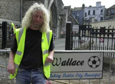 Mick Wallace, pictured during the peak of the construction boom, has been ordered to repay €19m in loans to ACC Bank.