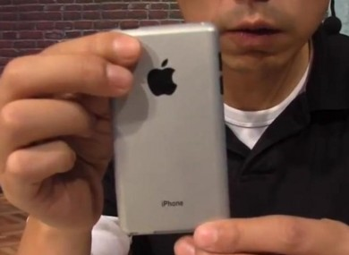An over-excited designer reveals the 'iPhone 5'... but it's only a prototype of what it might look like. 