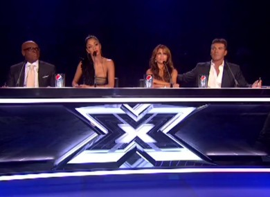 The X Factor USA judging panel