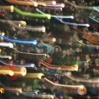 Thousands of people swing their hand lanterns during the Martini Festival in Germany. No, they were not celebrating the classic cocktail - the day honours both the Cathlolic St. Martin and Martin Luther, the Protestant reformer. 
