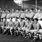 The Armagh team pose before the 1953 All-Ireland Final, which they lost to Kerry