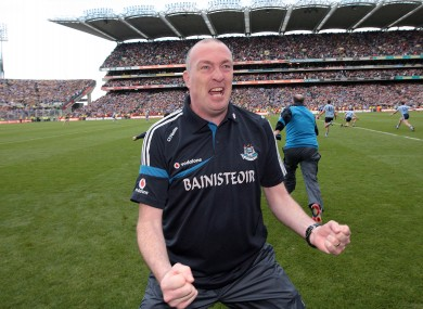 Gilroy first took charge of Dublin in 2009.