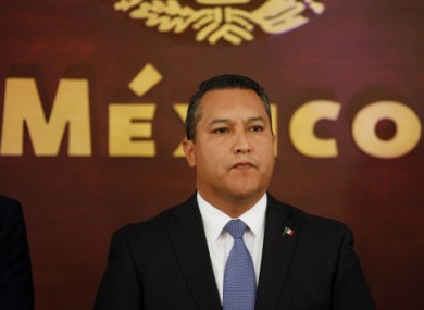 Francisco Blake Mora in 2011. He was the government's no. 2 official next to the president.