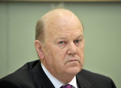 Michael Noonan will announce the Budget next month