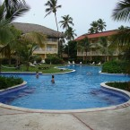 Dreams Punta Cana, in Punta Cana, the Dominican Republic, has a swim-up bar, a weekly ice-cream party, sailboats, an ocean trampoline and a weekly capming night with a barbecue. We can dream... [Pic via <a href=