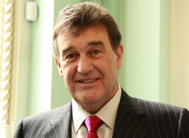 Presenter of The Apprentice Bill Cullen
