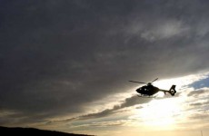 Air Corps ambulance used twice over Christmas