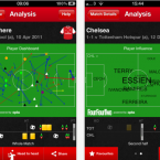 This is the holy grail of apps for football nerds. Powered by the good people at Opta, you can create your own real-time chalkboards to check out just how good Michael Carrick's pass completion stats are and wow your mates (or your
