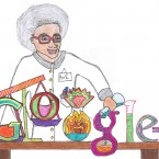 Emma Urquhart, 4th class, Craughwell National School, Craughwell, Group 3 finalist in Doodle 4 Google competition.
