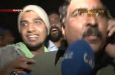 Happy New Year: Pakistani TV reporter punches man live on air