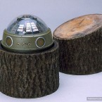 A device for picking up radar and air defence system signals disguised as a tree stump. It could relay information by satellite. (Image via photoshtab.ru)