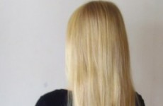 Looking for some virgin blonde human hair? It's for sale on an Irish site…