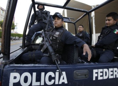 File photo of police in Guadalajara