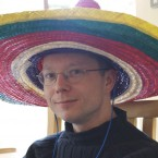 'Wide brimmed hat' - we're going to guess it was a sombrero. (clurr on Flickr)