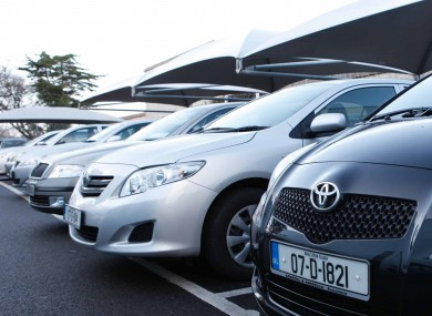 The number of new cars sold last month was 6.5 per cent higher than in January 2011, with Toyota the most popular brand.