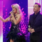 David Shannon and Una Gibney lead into the song they hope will become Ireland's 2012 Eurovision contender. (Image: KOBPIX)