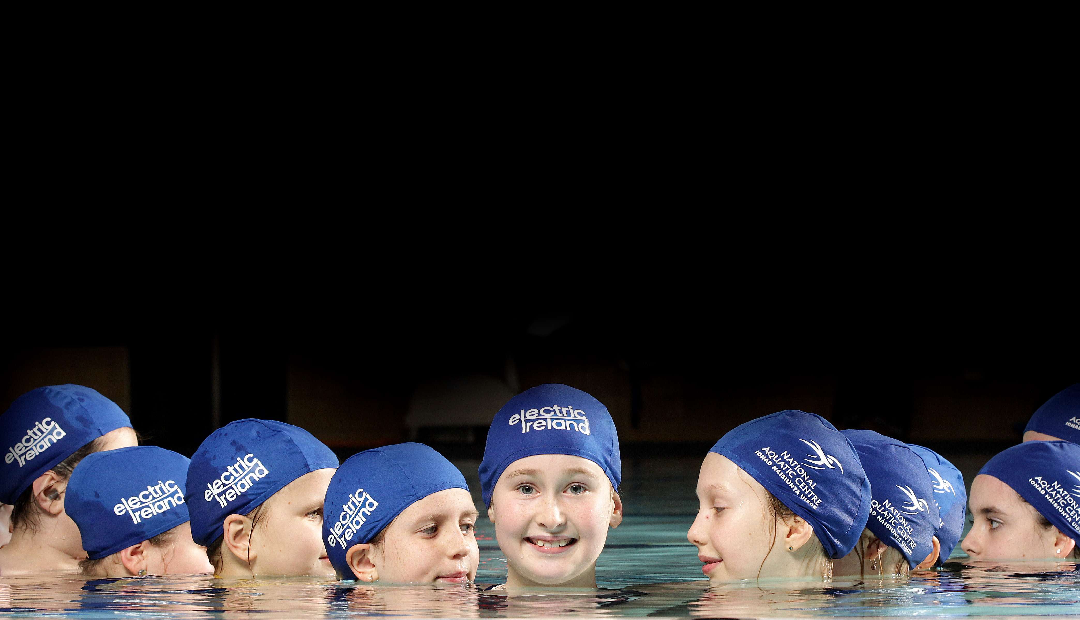 The National Aquatic Centre in-house synchronised swimming team enjoy mid-term break.