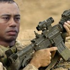 Tiger's military obsession started with video games and boot camp documentaries. But it quickly escalated into something bigger and weirder.